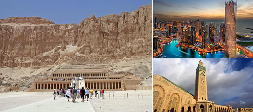 Middle East & Africa shore excursions