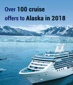 Over 100 cruise offres to Alaska in 2018