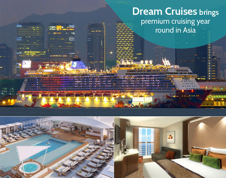 Dream Cruises I Genting Dream From Singapore I World Dream From Hong Kong