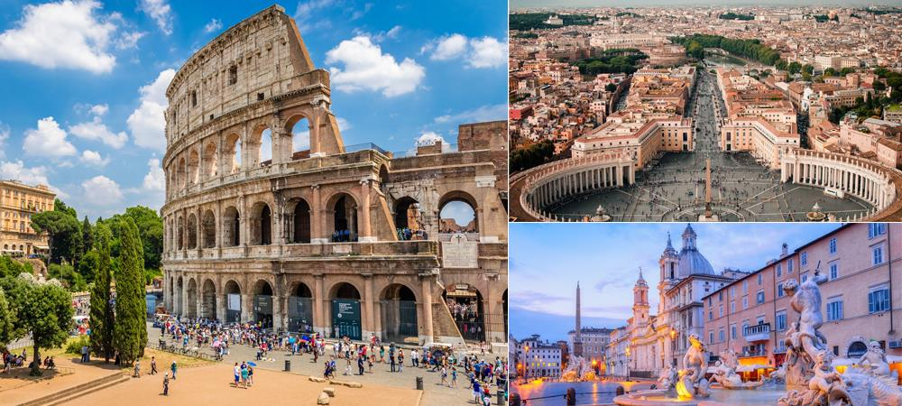 Cruises from Rome