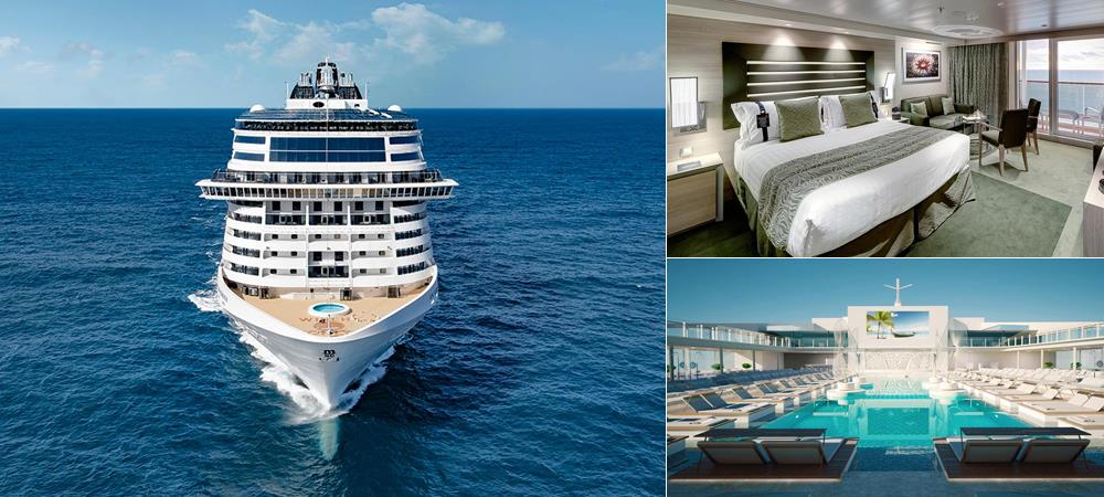 MSC Grandiosa - for the most grandiose cruising experience!