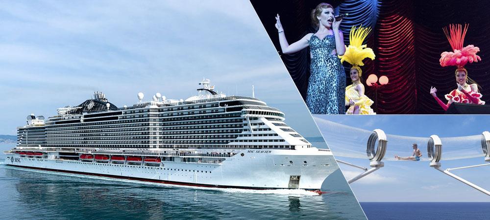 MSC Seaview | Mediterranean Cruises | MSC Seaview Cruise ...