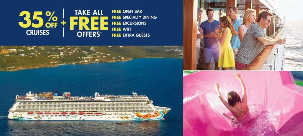 Norwegian Getaway - The Magnificent & Innovative Beauty!