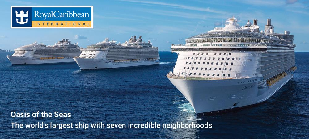 Oasis of the Seas – Cruise the Med. on one of the world's largest ships