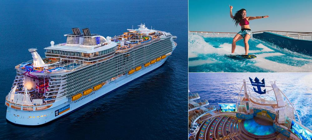 Symphony of the Seas - Cruise the World's Largest Ship in Caribbean