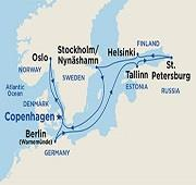 11 Nights Scandinavia & Russia Cruise