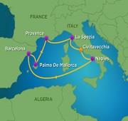 7 Night Western Mediterranean Cruise