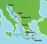 7 nights Greek Isles from Venice